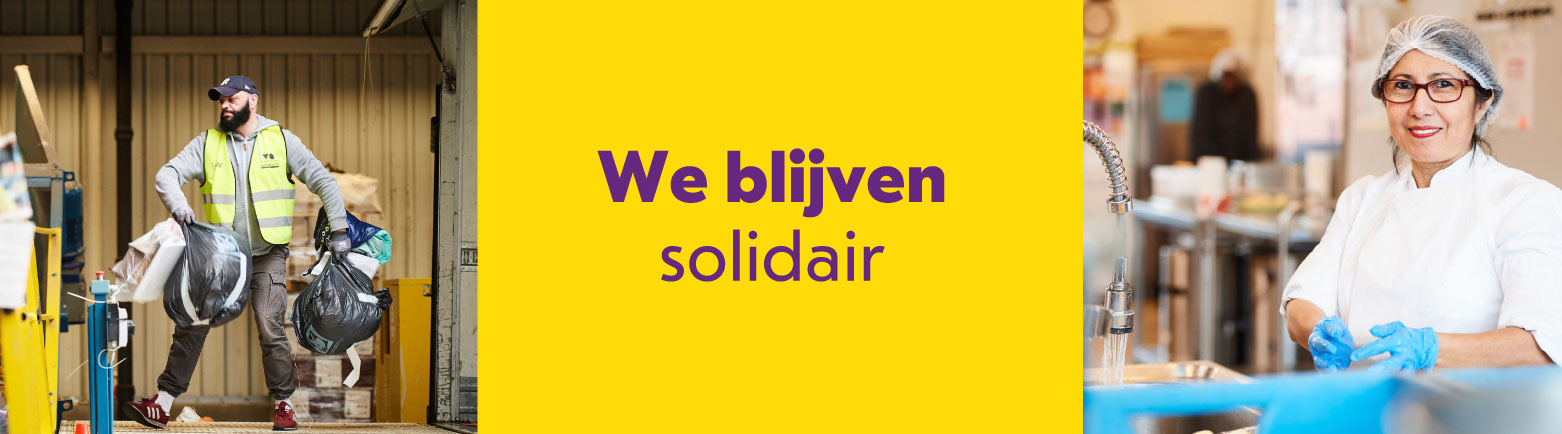 We blijven solidair bij Spullenhulp