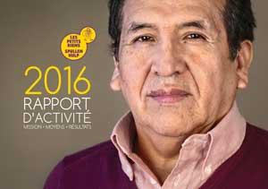 Les Petits Riens - Rapport annuel - 2016