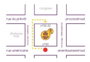 Rue Americaine et Prevot