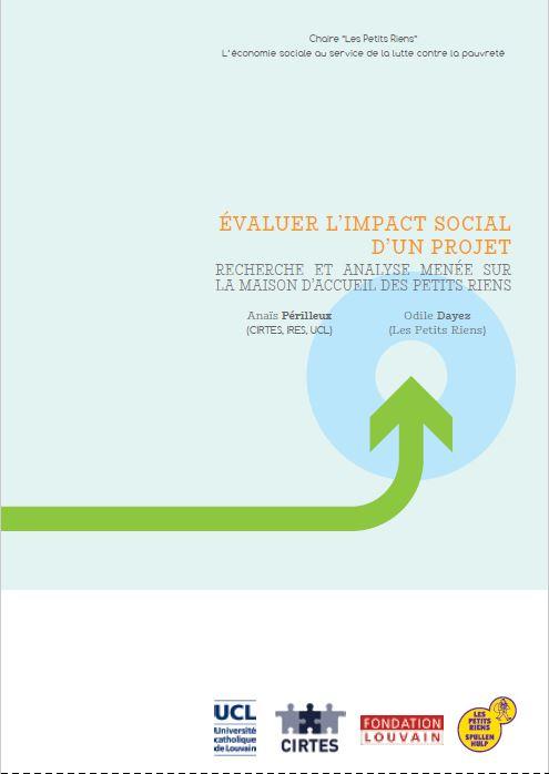 Évaluer l'impact social d'un projet - Recherche et analyse menée sur La Maison d'Accueil des Petits Riens