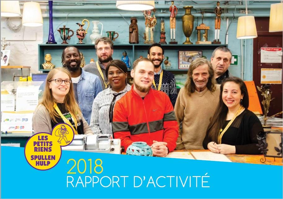 Les Petits Riens - Rapport annuel - 2018