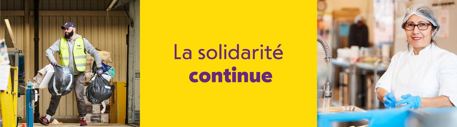 La solidarité continue chez les Petits Riens